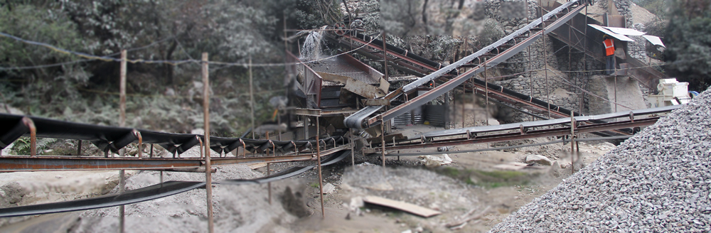 Crusher Plant  in production