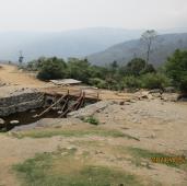 Garjang Crossing under construction