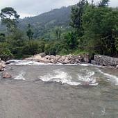 Gabion works to control Garjang Khola, will be gabion causeway in future