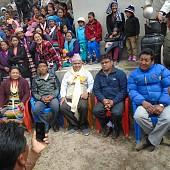 celebrating sherpa festival-Shertung